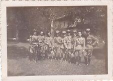 FOTO ALLIEVI UFFICIALI DI COMPLEMENTO A SPOLETO 1933 REGNO D'ITALIA - 32-58