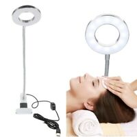Flexible Table Desk Reading Lamp Bedroom Makeup Tattoo LED Light USB Lamp