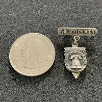 Liberty Bell Philadelphia Pennsylvania Vintage Travel Souvenir Charm Pin Pinback