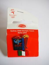 Sydney 2000 Olympic Torch Relay Pin - 1960 Rome - Collectors Item!