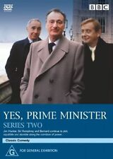 Yes, Prime Minister : Series 2 (DVD, 2005, 2-Disc Set)  New, ExRetail Stock, D45