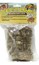 ZOO MED HERMIT CRAB CORK SHELTER HIDE AWAY ASST STYLES FREE SHIPPING IN THE USA