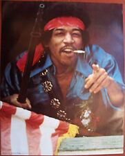 "VERY NICE VINTAGE MINT 1971 JIMI HENDRIX ""RAINBOW BRIDGE"" HEAD SHOP POSTER"
