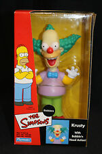 THE SIMPSONS - KRUSTY THE CLOWN BOBBLE HEAD, NIB, COLLECTIBLE 2002