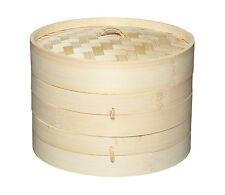 """KitchenCraft - World Of Flavours Oriental Bamboo Steamer 20cm (8"""")"""