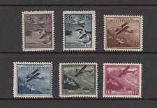 FIRST AIRMAILS/AVIATION - Liechtenstein  -1930 set of 6-(SC C1-6)-MH/MLH-B881