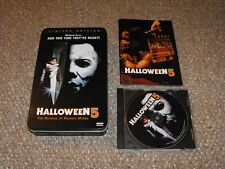 Halloween 5 Anchor Bay Limited Edition DVD Tin Box Set Complete