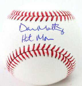 Don Mattingly Autographed Rawlings OML Baseball w/ Hitman- JSA W *Blue