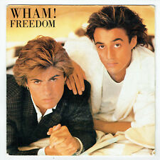"WHAM George Michael Vinyl 45T SP 7"" FREEDOM - EPIC 4743 STEREO F Reduit"