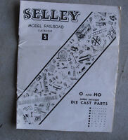 Vintage 1958 Selley #5 O and HO Model Railroad Super Detailed Cast Part Catalog