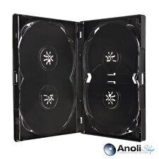 Amaray DVD Hüllen Schwarz für 1,2,3,4 Disc Neuware 4 Hüllen Original Amaray