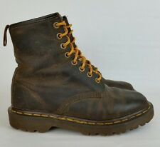 Dr Martens Vtg 1460 Brown Leather 8 Eye Grunge Boots England Womens UK 4, US 6