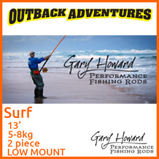 GARY HOWARD SURF 13' FISHING ROD 13FT 5-8KG 2 PIECE LOW MOUNT