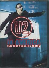 "U2 ""In America New York * Denver * Boston"" DVD 2008 - Sealed"