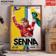 POSTER Ayrton Senna Tribute Legend Driver Brasil Formula Uno F1 World Champion