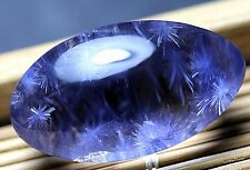 24.5ct Rare NATURAL Clear Beautiful Blue Dumortierite Crystal Pendant Polished