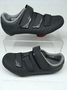 shimano womens size 40 grey cycling shoes with cleats  RP2W