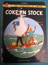 TINTIN COKE EN STOCK CASTERMAN 1967