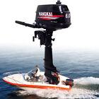 2 Stroke 6HP Outboard Motor Marine Boat Engine 4.4KW w/ Water Cooled Heavy Duty