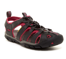 ad8858918fad NEW KEEN CLEARWATER CNX LEATHER CLOSED TOE SANDALS WOMENS 8