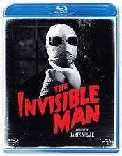 The Invisible Man [Blu-ray] [1933] [Region Free] Claude Rains, Gloria Stuart