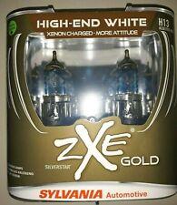 SYLVANIA Silverstar zXe GOLD H13 Headlight Bulbs, Pack of 2 Sealed L@@K!! 9008
