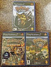 Ratchet and Clank Ratchet and Clank 3 Ratchet Gladiator x3 games Bundle