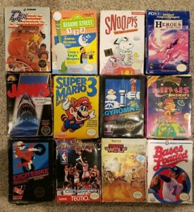 Nintendo NES Box Only Lot - No Games or Manuals - See Details!