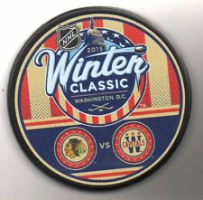 2015 Winter Classic Chicago Blackhawks Washington DC NHL Hockey Puck FREE Cube