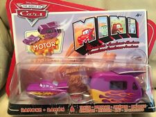 NEW MOTOR DISNEY PIXAR THE WORLD OF CARS MINI RAMONE & TRAILER CARDED NEW