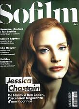 SOFILM N°24 OCTOBRE 2014  JESSICA CHASTAIN/ KASSOVITZ/ WENDERS/ HOOPER/ GOYA