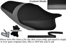 GREY & BLACK CUSTOM FITS KAWASAKI ZZR 1400 ZX14R 12-14 DUAL SEAT COVER