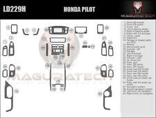 Fits Honda Pilot 2003-2004 With Navigation Large Wood Dash Trim Kit