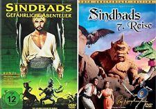 Sindbads gefährliche Abenteuer + Sinbads 7. Reise DVD Set 2 Klassiker NEU OVP