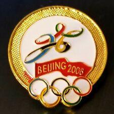 2008 Beijing Olympic BID NOC pin