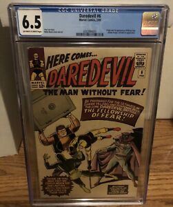 Daredevil 6 CGC 6.5 OW/W Pages