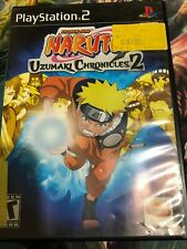 NARUTO: UZUMAKI CHRONICLES 2 /PS2  VIDEO GAME Case and Manual Only No Game Disc