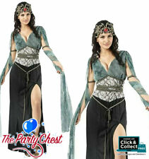 ADULT MYTHICAL MEDUSA COSTUME Ladies Greek Goddess Serpent Fancy Dress Outfit