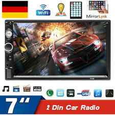 7 Autoradio Auto Video MP5 Player Touchscreen Bluetooth Multimedia FM AUX USB