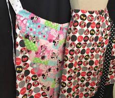 Minnie Mouse Custom Wrap Around Reversible Skirt Small Medium Handmade Quality