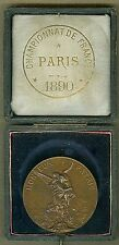1886 French Medal National Union of Shooting Societies by H. Dubois 45mm BOX 137