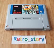 Super Nintendo SNES SOS Sink Or Swim PAL