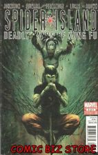 SPIDER ISLAND DEADLY LANDS OF KUNG FU #2 (2011) 1ST PRINT BAGGED & BOARDED