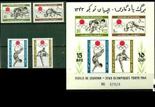 Afghanistan: Tokyo Olympics,1964,690-93a,MNH