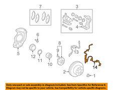 TOYOTA OEM ABS Anti-lock Brakes-Front Speed Sensor 8954206010
