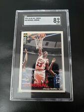 1995-96 Upper Deck Collectors Choice Michael Jordan #45 Sgc 8
