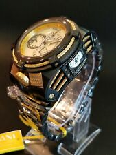 RARE Invicta Reserve 56mm Bolt Zeus Tria 3 Swiss Mvmts Champagne MOP Dial Watch