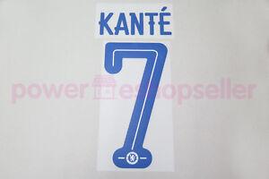 Chelsea 2016/2017 #7 KANTE Awaykit Nameset Printing