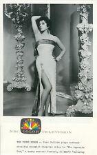 JOAN COLLINS AS LEGGY SEXY SHOWGIRL THE OPPOSITE SEX ORIGINAL 1964 NBC TV PHOTO