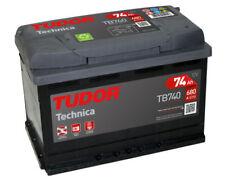 Batería Tudor TB740 - 74Ah 12V 680A. 278x175x190